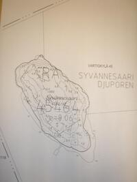 Kartta asemakaavan mukaisesta kaavatontista
