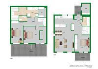 Hyvin toimiva moderni koti