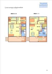 loma-asuntojen pohjakuva