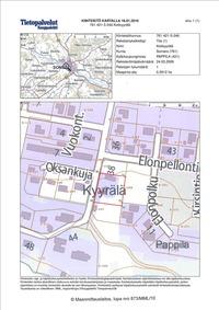 Kiinteistö kartalla