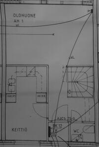 Alkuperäinen yläkerran pohjakuva