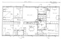 7,9 m² makuuhuone on yhdistetty olohuoneeseen