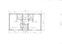 Pohjakuva 48 m2;n mökistä
