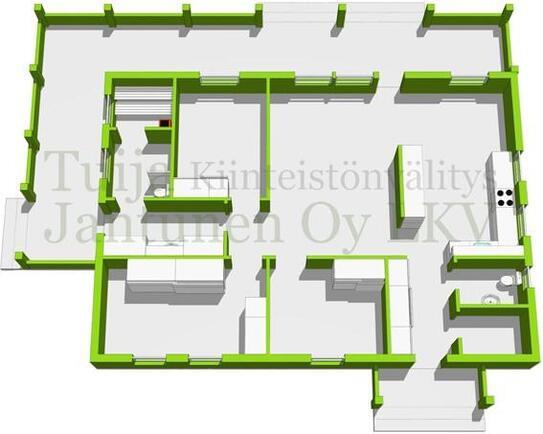 ohjeellinen 3 D pohjakuva