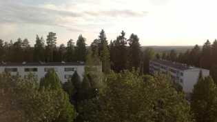 Näkymä parvekkeelta kesällä