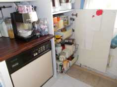 vedettävät hyllyt keittiössä