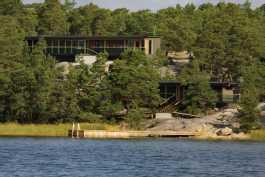 Villa Norrholm mereltä