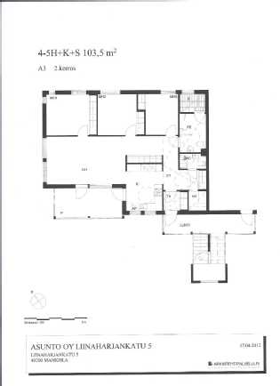 Liinaharjank 5, A3    103,5 m2