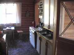 Majoitusrakennuksen keittiö  kuva 2