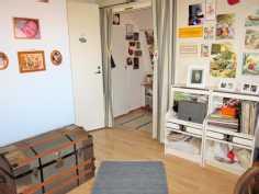 Yläkerran aula/työhuone