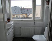 """Erillinen """"näköala-WC""""."""