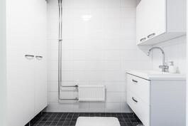 Erillinen kodinhoitohuone.