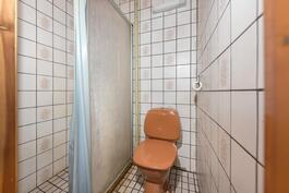 Yläkerran wc/kph