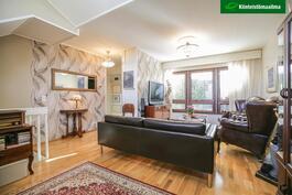 Tyylikäs olohuone