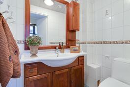Laajennuspuolen wc