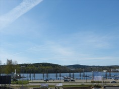 Maisemat Jyväsjärven ja Sataman suuntaan