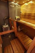 Sauna, puukiukaalla ;)