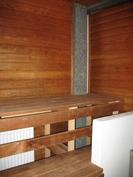Sauna remontoitu 2014