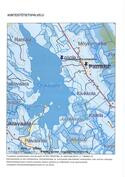 Venevalkama ja uimaranta ovat 1 km päässä Oskajärvellä