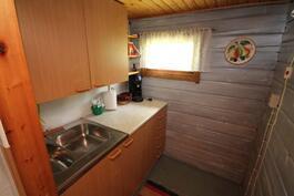 Alamökki, keittiö