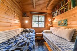 makuuhuone / badrum