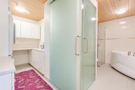Kodinhoitotila ja toinen wc