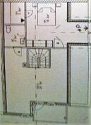 Kulku wc:hin kuvasta poiketen makuuhuoneen puolelta.