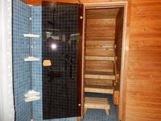 Suihkunurkkaus ja sauna