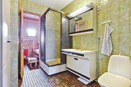 Tilava pesuhuone/ Rymligt tvättrum.
