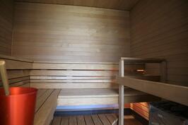 Yhtiön sauna