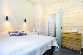 Myös toinen makuuhuone takaa ihanat unet.