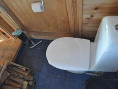 WC saunamökissä