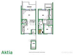 Asunnossa takkavaraus / Eldspis reservering i lägenheten