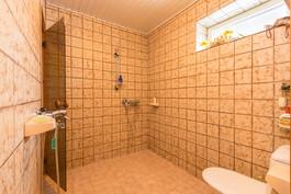 Suihkutilat ja wc