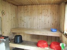 Kylpyvalmis sauna