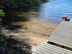 Hiekkaranta, suojainen laguuni