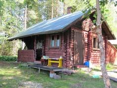 Idullinen vanha sauna