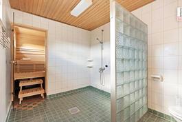 Tässä kylpyhuoneessa on tilaa!