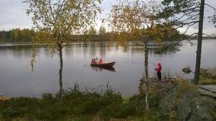 Kesäinen kalastushetki..