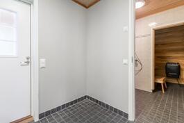 kodinhoito, pesutila ja sauna