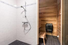 pesutila ja sauna