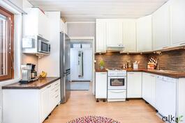 Kodikkaassa keittiössä on ilo touhuta!