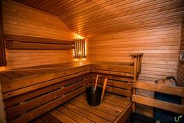 Omaan saunaan on ihana tulla rentoutumaan!