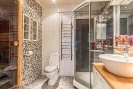 Hieno kylpyhuone