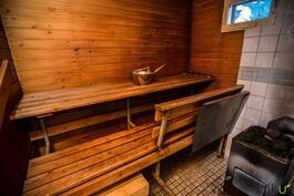 Kodikkaassa saunassa saat hyvät löylyt!
