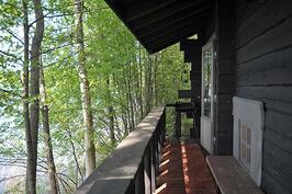savusaunan veranta