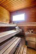 sauna ikkunasta näkymä merelle