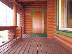Todella siisti veranta.