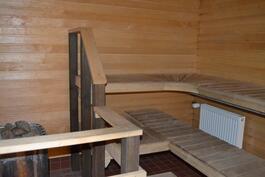 Taloyhtiön sauna ja