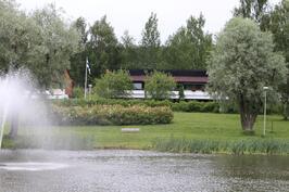 taloyhtiönäkymää Ankkalammelta